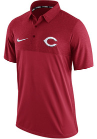 Cincinnati Reds Nike AC Elite Polo Shirt - Red