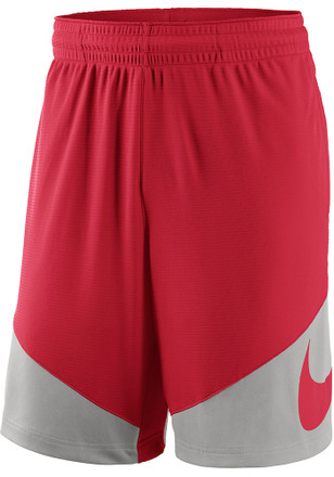 Nike The Ohio State University Mens Red New Classics Shorts