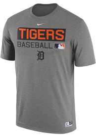 Nike Detroit Tigers Grey Team Issue 1.7 Tee