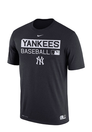 Nike New York Yankees Mens Navy Blue Team Issue Dri-Fit Tee