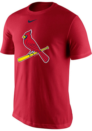 Nike STL Cardinals Mens Red Logo Legend Performance Tee