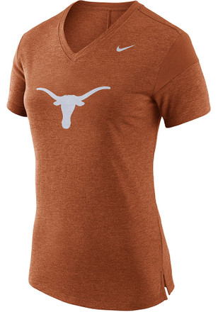 Nike Texas Longhorns Womens Fan Orange Short Sleeve Tee