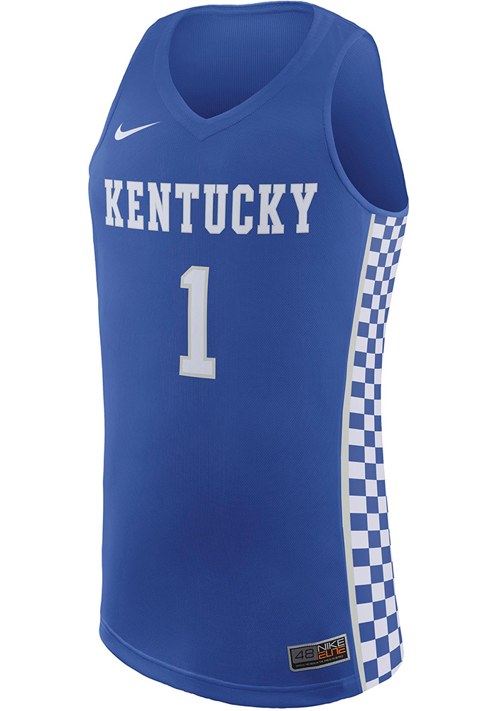 buy popular 099d2 32e6a Nike Kentucky Wildcats Mens Blue Replica Jersey