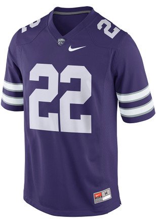 Nike K-State Wildcats Mens Purple Home Jersey