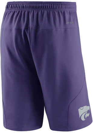 Nike K-State Wildcats Mens Purple Fly XL 5.0 Shorts