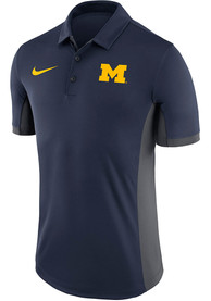 Michigan Wolverines Nike Evergreen Polo Shirt - Navy Blue