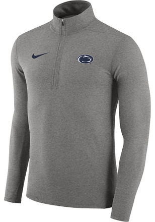 Nike Penn State Nittany Lions Mens Grey Element 1/4 Zip Pullover