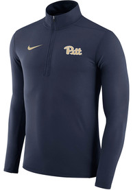Pitt Panthers Nike Element 1/4 Zip Pullover - Navy Blue