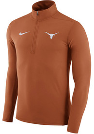 Texas Longhorns Nike Element 1/4 Zip Pullover - Burnt Orange