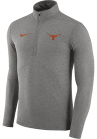 Texas Longhorns Nike Element 1/4 Zip Pullover - Grey