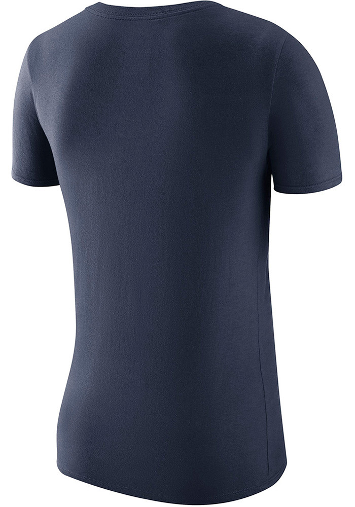 Nike michigan wolverines womens navy blue local elements for Navy blue and white nike shirt