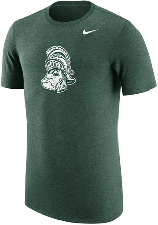 Nike Michigan State Spartans Mens Green Vault Fashion Tee