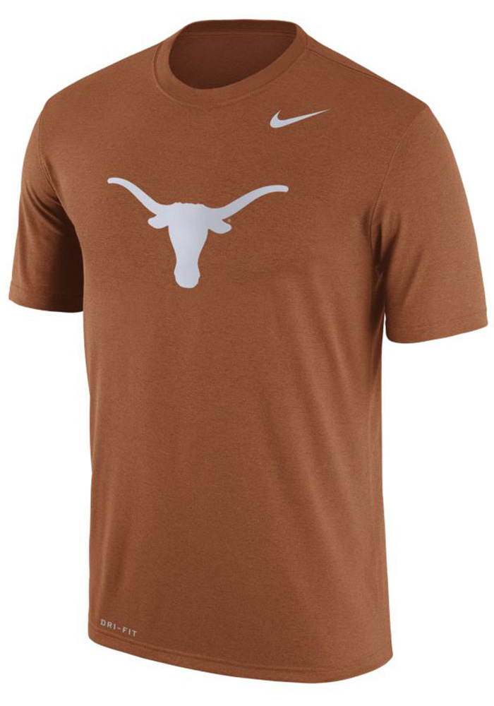 Nike Texas Longhorns Orange Legend Short Sleeve T Shirt - Image 1