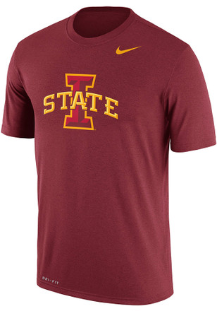Nike Iowa State Cyclones Mens Crimson Legend Tee