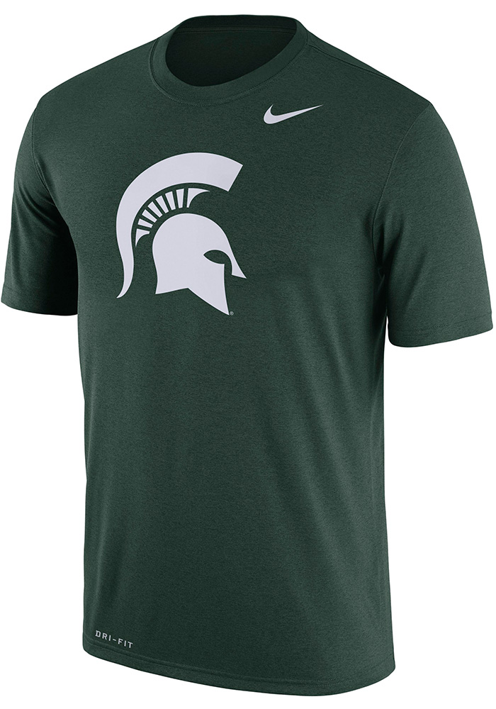 Nike Michigan State Spartans Green Legend Tee