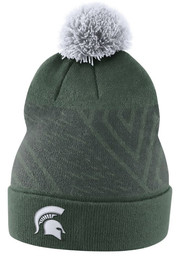 Michigan State Spartans Nike 2017 SIDELINE Knit - Green
