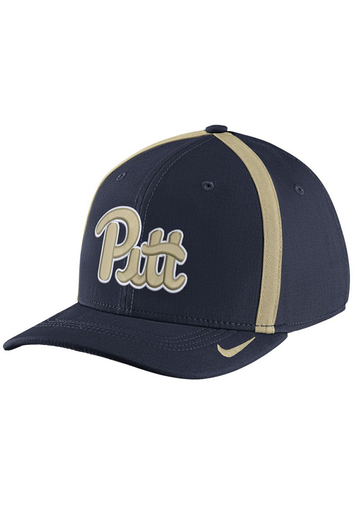 c5bb11bc7 Nike Pitt Panthers Mens Navy Blue 2017 SIDELINE Flex Hat