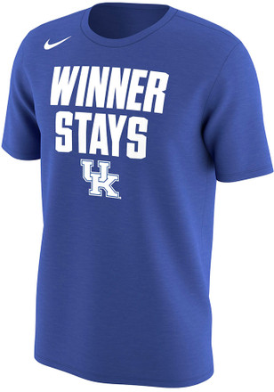 Nike Kentucky Mens Blue March Madness Winner Stays Tee
