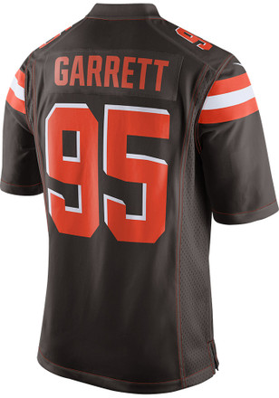 Myles Garrett Nike Cleveland Browns Mens Brown 2017 Home Jersey