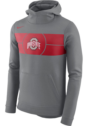 Nike Ohio State Buckeyes Mens Fan Hood