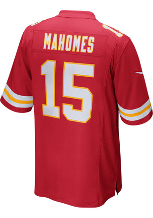 Patrick Mahomes Nike Kansas City Chiefs Mens Red 2017 Home Jersey