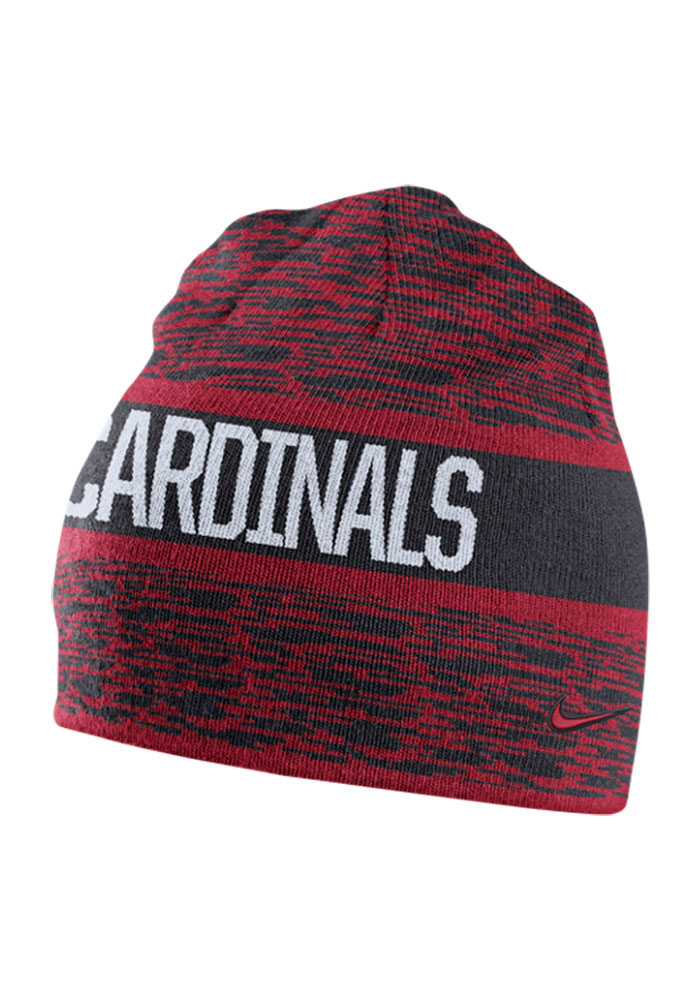 Nike St Louis Cardinals Navy Blue Reversible Local DNA Mens Knit Hat - Image 2