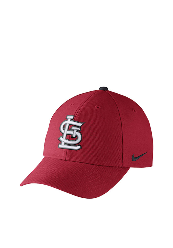 Nike St Louis Cardinals Mens Red DF Wool Classic99 Adjustable Hat - Image 1