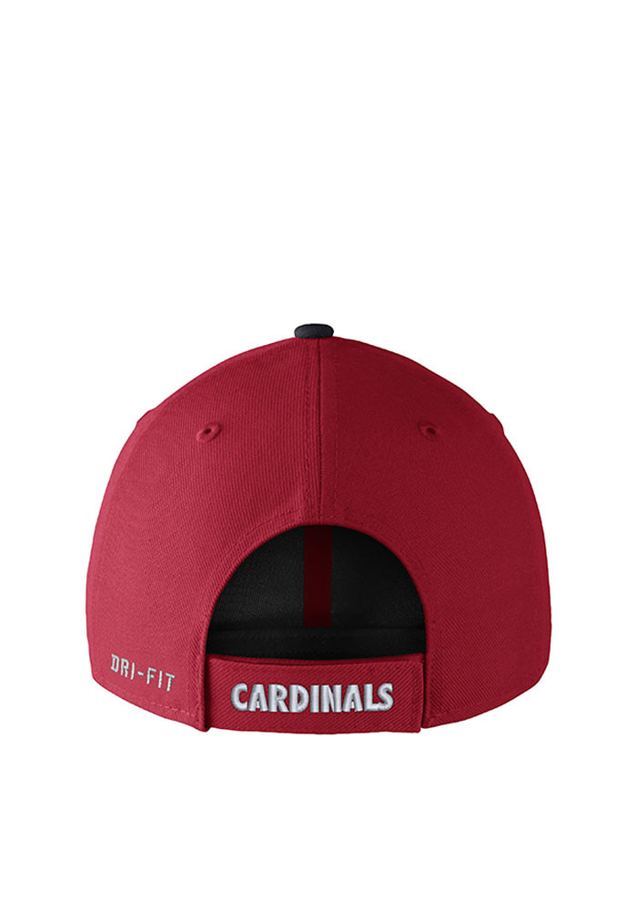 Nike St Louis Cardinals Mens Red DF Wool Classic99 Adjustable Hat - Image 2