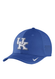 sports shoes 3fdc3 7a421 Nike Kentucky Wildcats Vapor Sideline Coaches Adjustable Hat - Blue