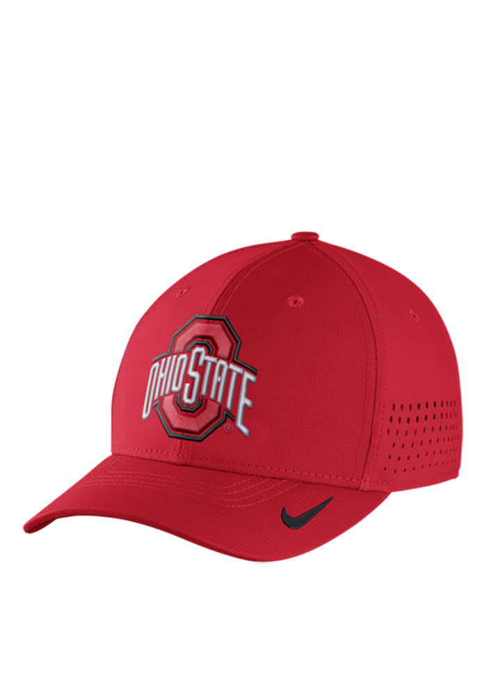 online store b6f1a 95094 ... osfm dri fit cap red free b2564 bac0c  hot nike ohio state buckeyes  mens red vapor sideline coaches flex hat image 1 35daa 19037