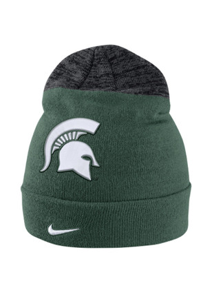 Nike Michigan State Spartans Green Vapor Sideline Coaches Knit Hat a0832014a316