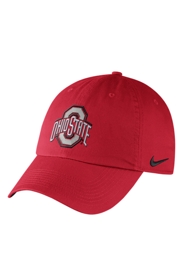 1bff46b1c40 ... new zealand nike ohio state buckeyes mens red df h86 authentic  adjustable hat image 1 2af1a