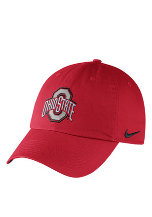 Nike Ohio State Buckeyes Mens Red DF H86 Authentic Adjustable Hat