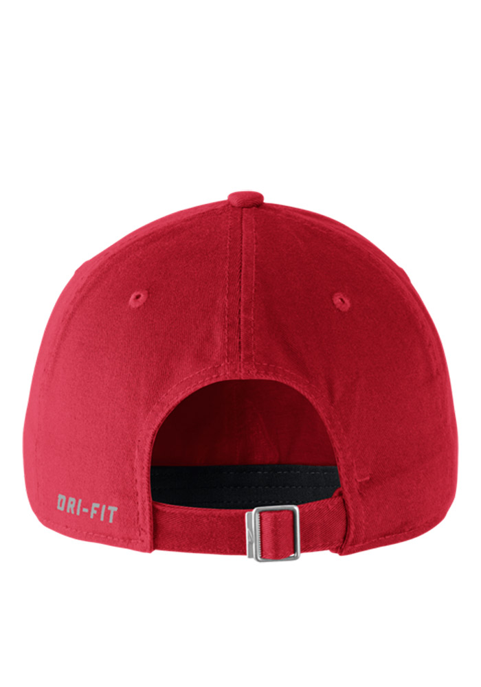 Nike Ohio State Buckeyes DF H86 Authentic Adjustable Hat - Red - Image 2