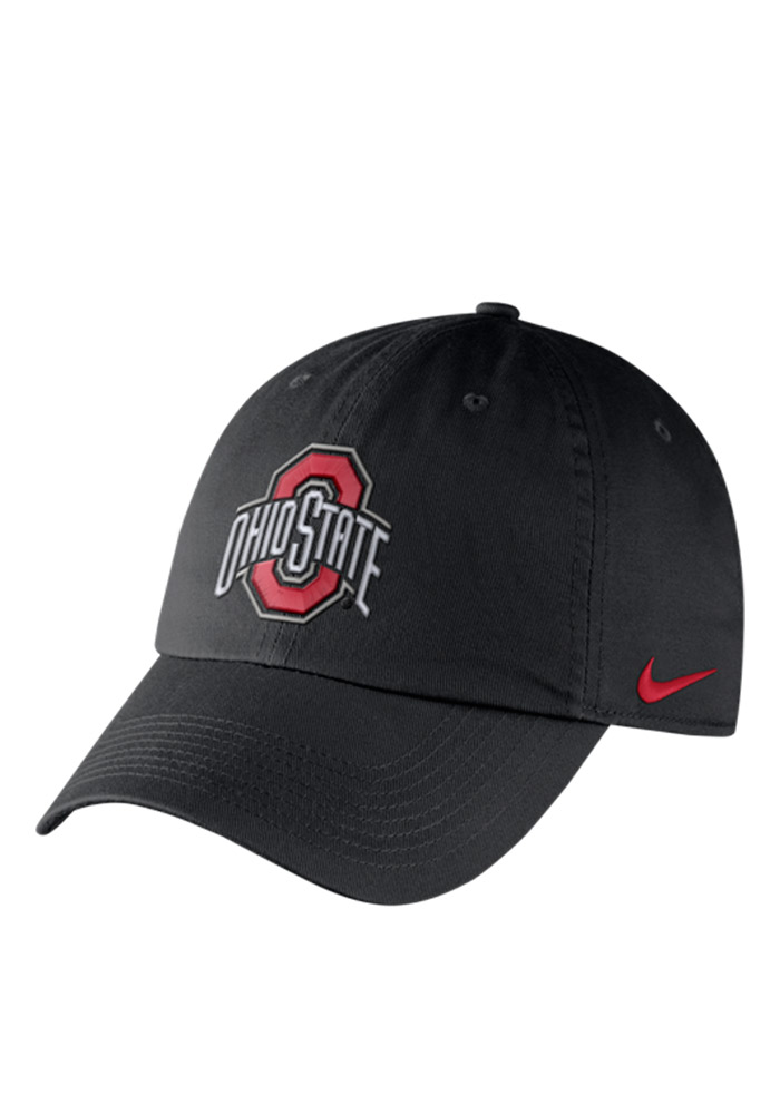 pretty nice a3f73 3e070 ... usa nike ohio state buckeyes mens black df h86 authentic adjustable hat  image 1 1a958 94421
