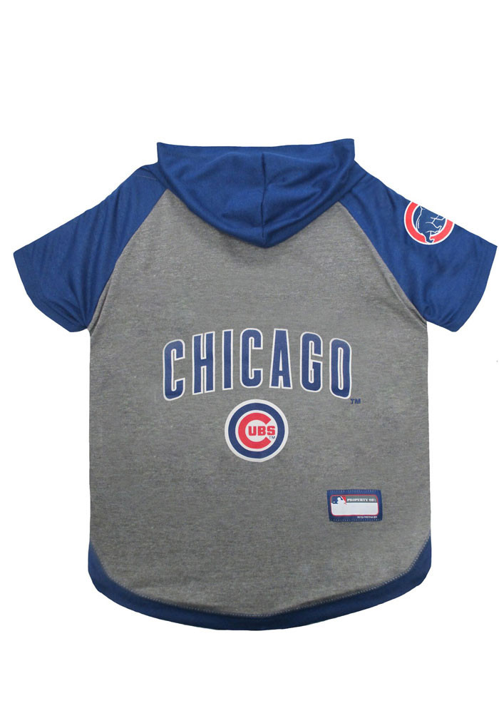 Chicago Cubs Hoodie Pet T-Shirt - Image 1
