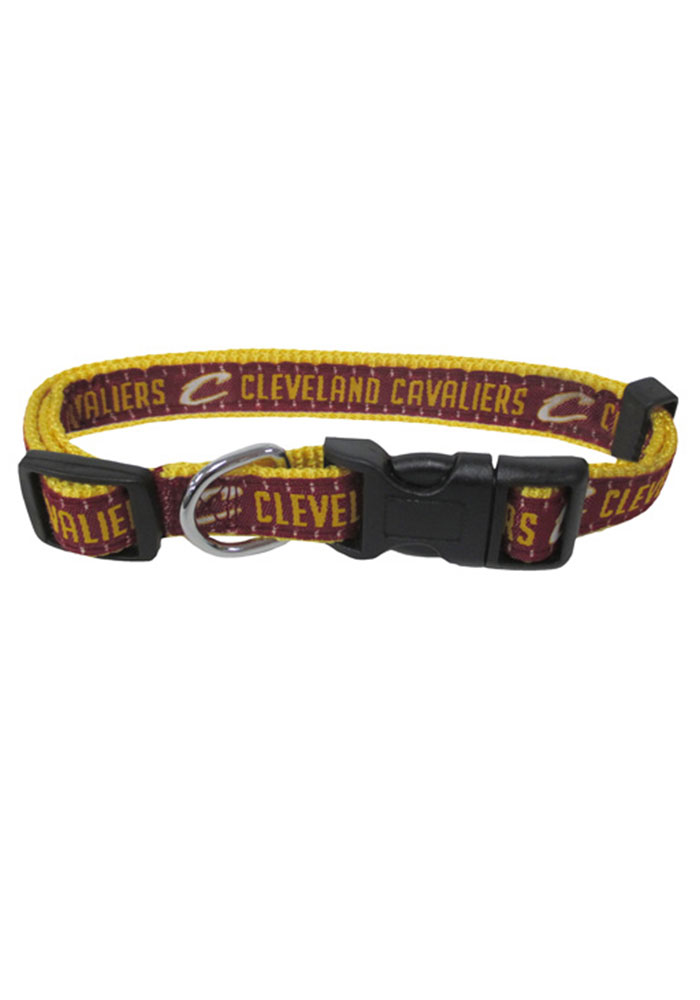 Cleveland Cavaliers Web Pet Collar - Image 1