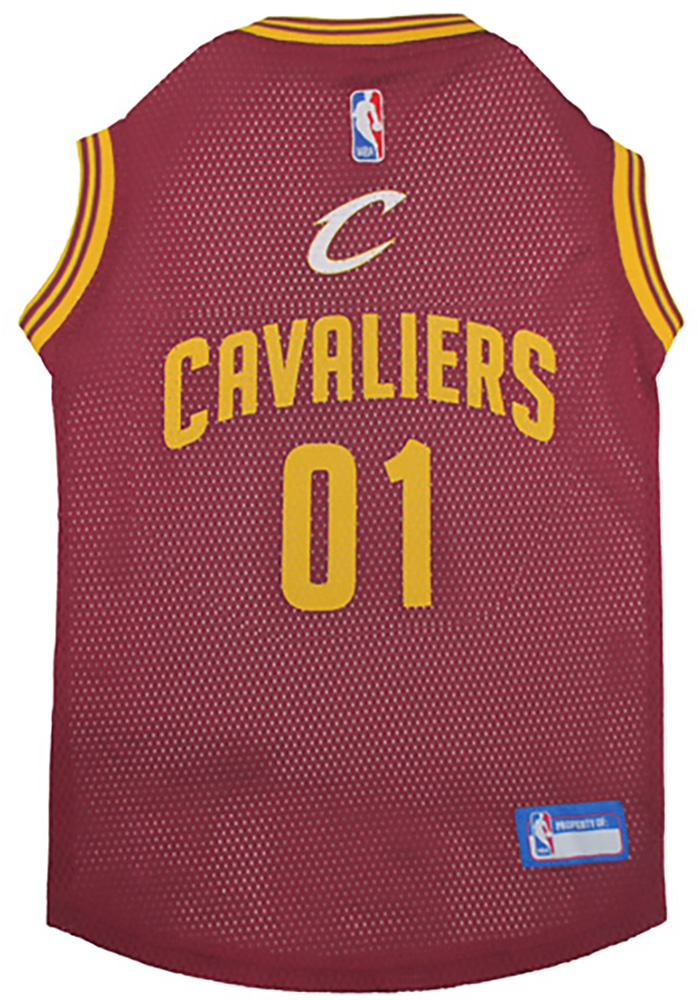 Cleveland Cavaliers Basketball Pet Jersey - Image 1
