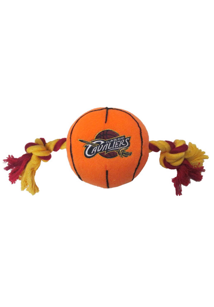 Cleveland Cavaliers Basketball Pet Toy - Image 1