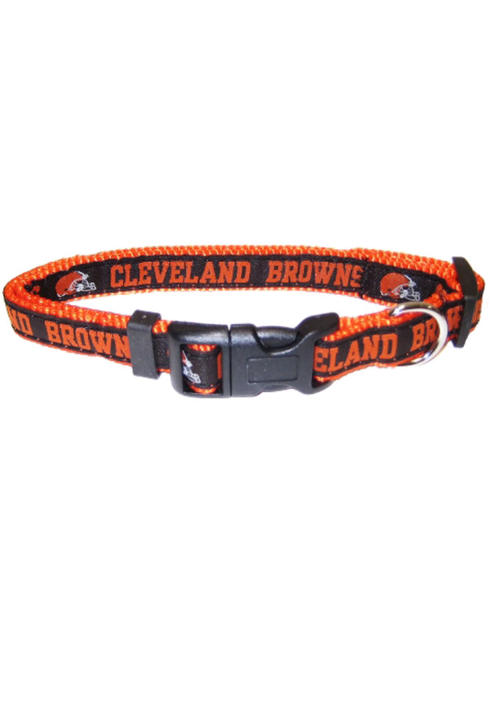 Cleveland Browns Web Pet Collar - Image 1