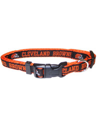 Cleveland Browns Adjustable Pet Collar