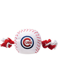Chicago Cubs Nylon Baseball Rope Pet Toy