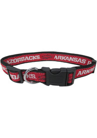 Arkansas Razorbacks Adjustable Pet Collar