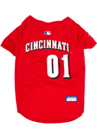 Cincinnati Reds Baseball Pet Jersey