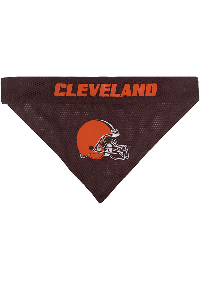 Cleveland Browns Home and Away Reversible Pet Bandana - Image 2