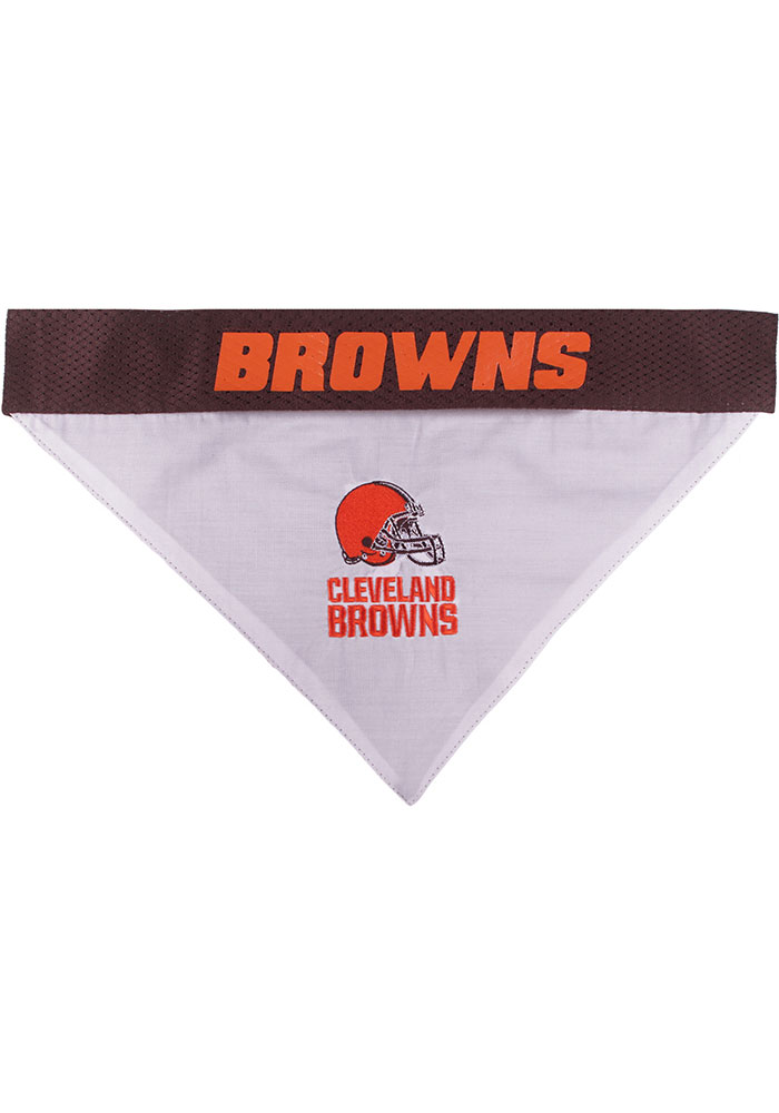 Cleveland Browns Home and Away Reversible Pet Bandana - Image 3