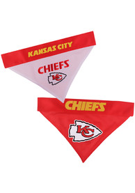 Kansas City Chiefs Home and Away Reversible Pet Bandana