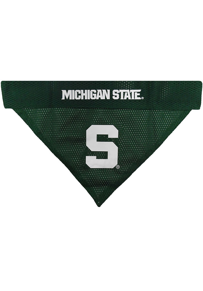 Michigan State Spartans Home and Away Reversible Pet Bandana - Image 2