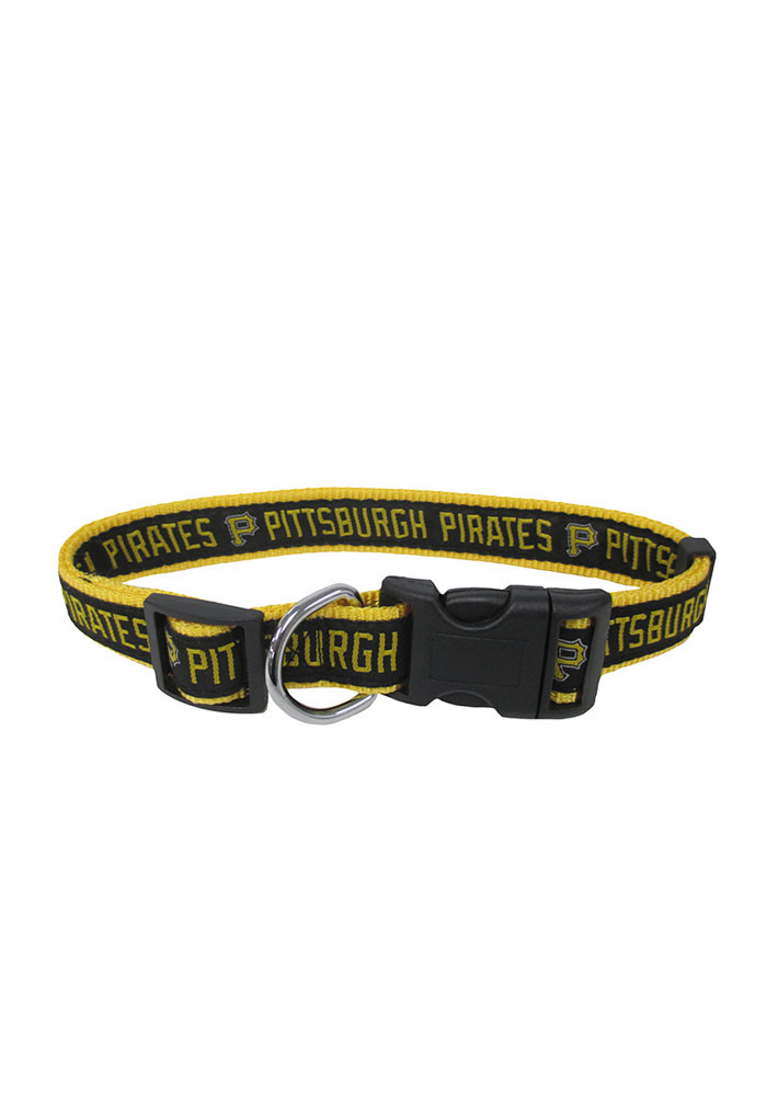 Pittsburgh Pirates Nylon Pet Collar - Image 1