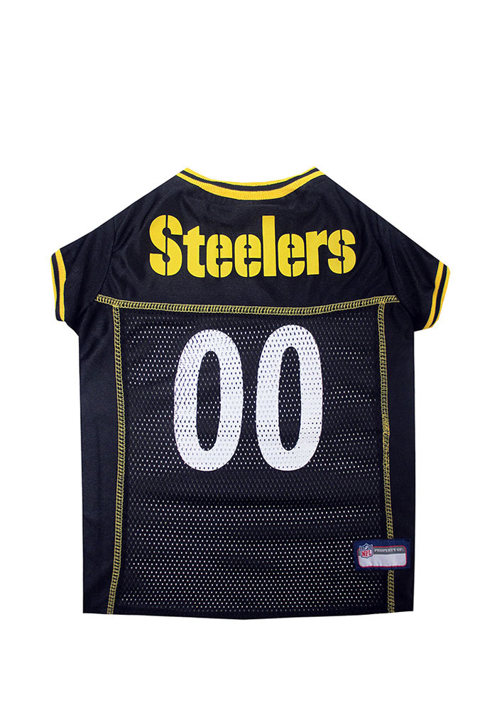 Pittsburgh Steelers Football Pet Jersey - Image 1